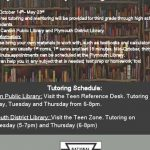 Tutoring Available for Student-Athletes