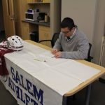 Mack Baker Signs with Aquinas