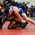 Wrestlers Split at Franklin Quad