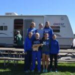 Salem Girls XC WINS Wayne County Championship