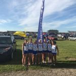 Salem High School Girls Varsity Cross Country finishes 18th place