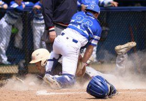 Boys Varsity Baseball vs. Woodhaven 4.22.17  (Photos by Michael Vasilnek)