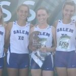 Salem High School Girls Varsity Cross Country finishes 3rd place