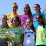 Salem High School Girls Varsity Cross Country finishes 1st place