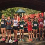 Salem High School Girls Varsity Cross Country finishes 9th place