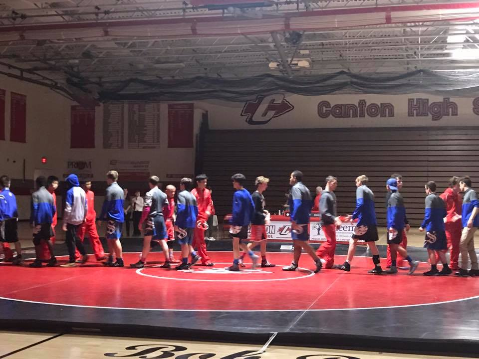 Wrestling beats Canton 62-9 in Rivalry Dual