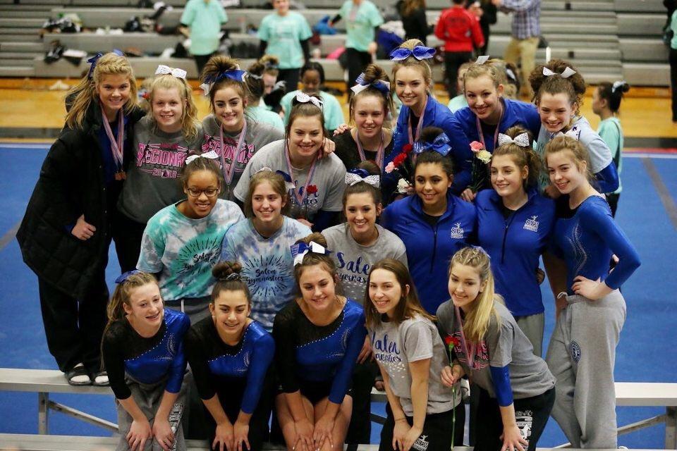 Gymnastics to STATES!