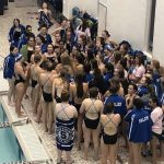 Girls Swim and Dive defeats Howell in first meet