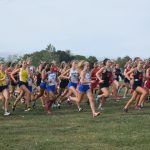 "Salem Girls XC Varsity ""B"" ROCKS Monroe Jefferson Invite"