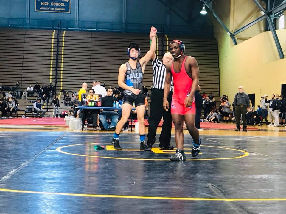 Varsity Wrestling takes 6th at Lansing Eastern