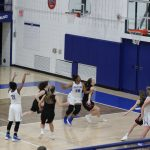 Girls Varsity Basketball beats Novi 34 – 31