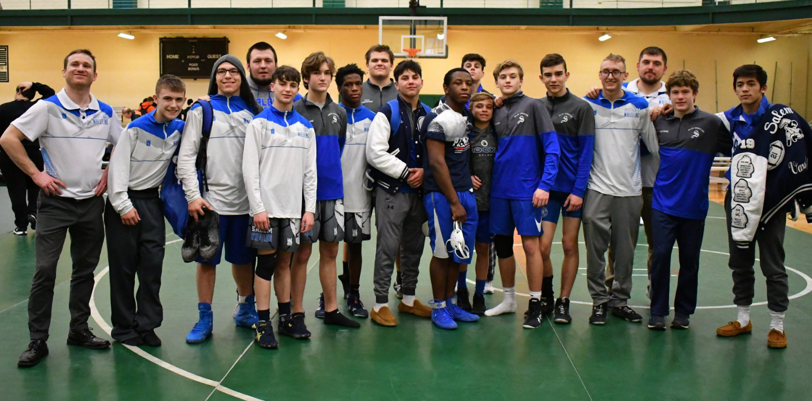 Wrestling Takes 3rd in Division