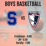 Game Day!  Boys Basketball (Franklin @ Salem)
