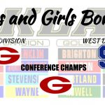 Boys and Girls Bowling win the KLAA West Division!