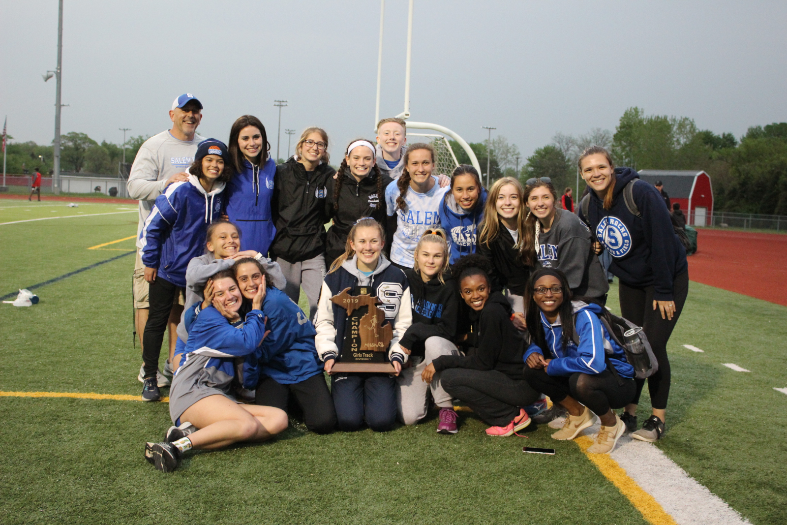 Girls Track and Field win the Regional