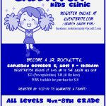 Click here for info on the Oct. 5th Pom Clinic