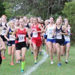 Salem Girls XC Wayne County Championship Runner-Up