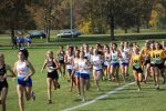 Salem Girls XC Splits Double Dual with Hartland & Plymouth