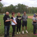 Senior softball recognition