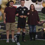 Boys Soccer Senior Recognition
