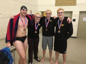 2020 AAC Swimming and Diving
