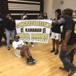 Kamarah Bender Scores 1,000th Career Point