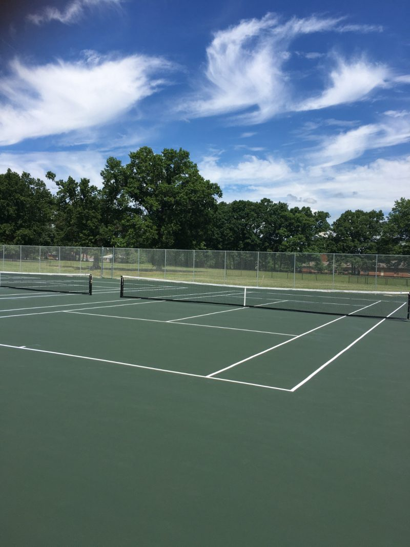 New WCSD Tennis Courts