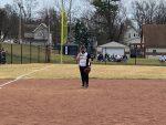 Softball home opener