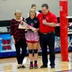 Lonon Says Farewell – Volleyball Senior Night