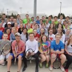 Madison Tennis Making Racket in HCC