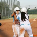 Montclair High School Varsity Softball beat Chaffey High School 7-6