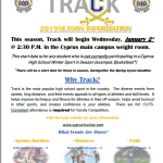 Track Info for 2019
