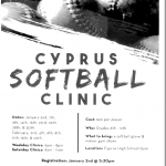 Cyprus Softball Clinic Information