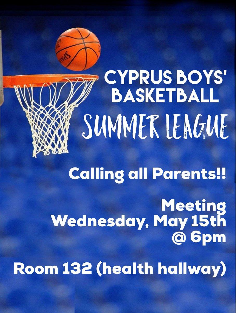 Boys' Summer Basketball League