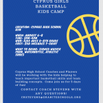Girls' Basketball Kids Camp