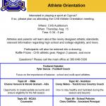Athlete Orientation