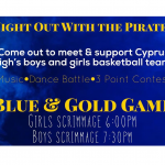Blue and Gold Games