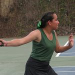 Girls Tennis Falls in Tight Contest to Montebello