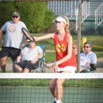 Girls Varsity Tennis takes down Indiana Area