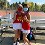 Sommariva and Pylant Medal at WPIAL Tennis Doubles