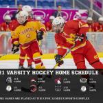 2020-2021 Hockey Schedule Unveiled