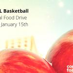 Boys Basketball Supporting Food Bank