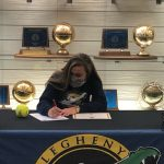 Book Signs with Allegheny College