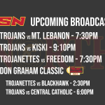 NCSN Broadcast Schedule – Week of January 18, 2021