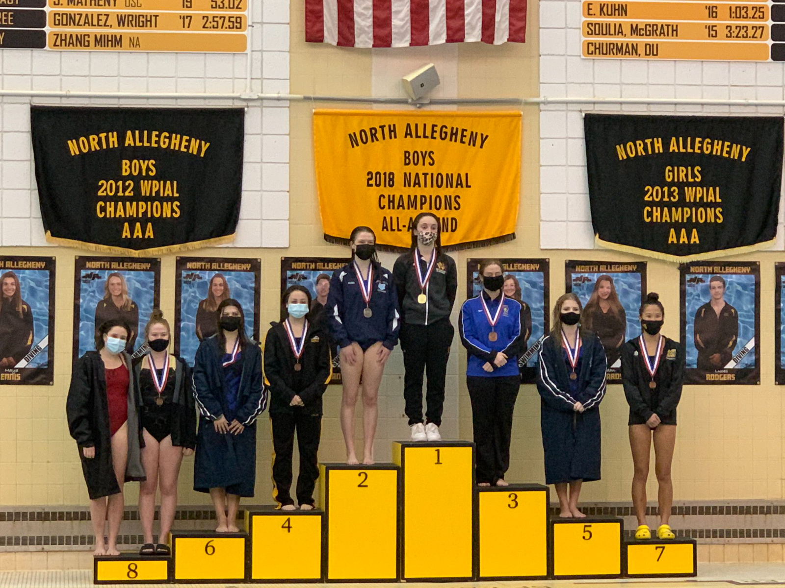 Maggie Foley Repeats as AA WPIAL Diving Champion!