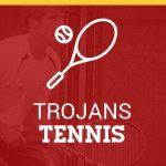 Boys Varsity Tennis beats Indiana