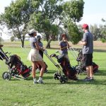 Girls Golf Notches 1st League Win!