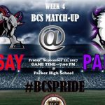 Parker vs Ramsay Football Game 9/22