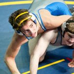 Wrestling Takes Home Second at Districts