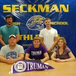 Zach Taylor will wrestle at Truman State